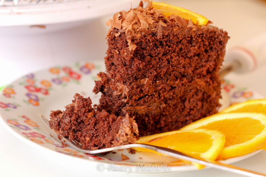 Fluffiest chocolate cake