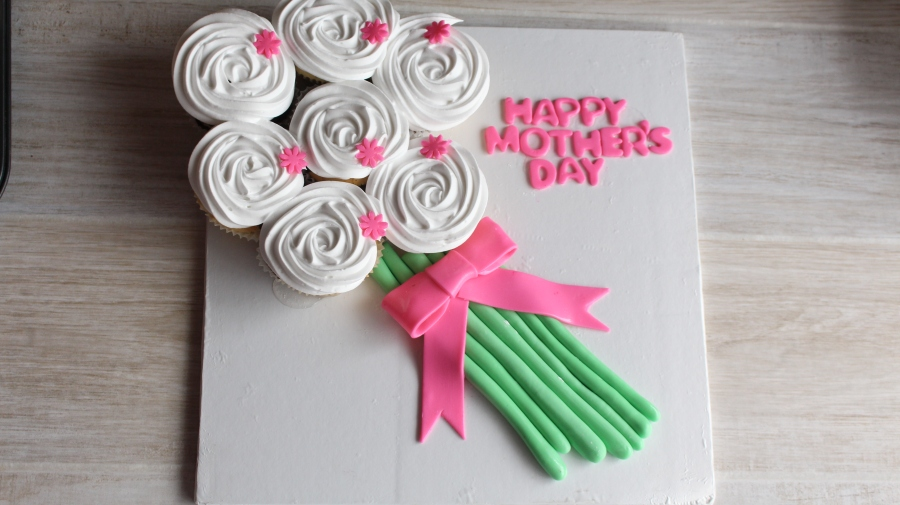 Mother's Day MarbleCupcakes